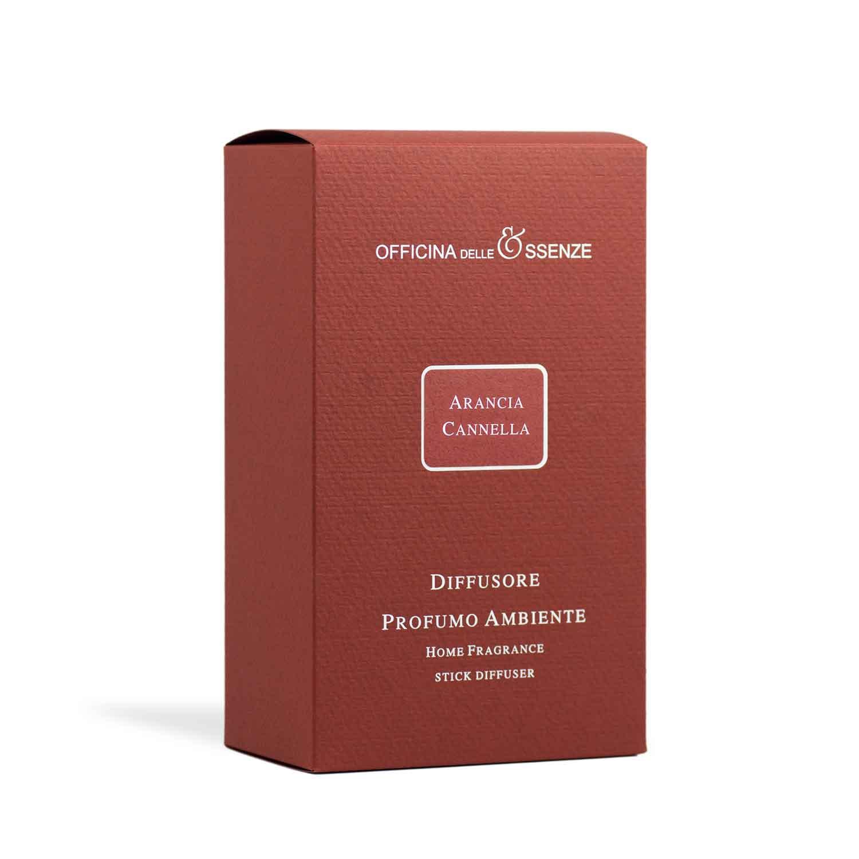 Arancia Cannella diffusore con scatola