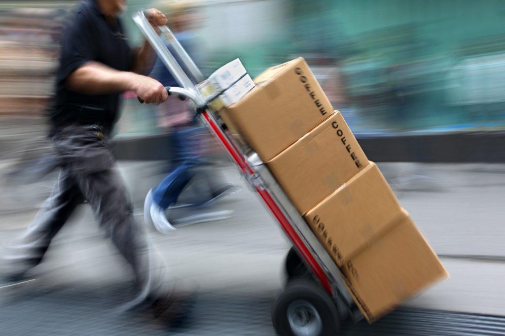 Pagamento e consegna