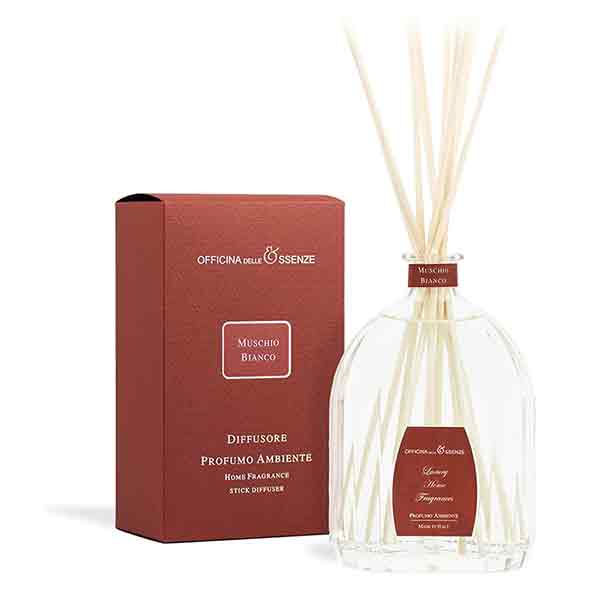 Muschio Bianco - Home reed diffuser
