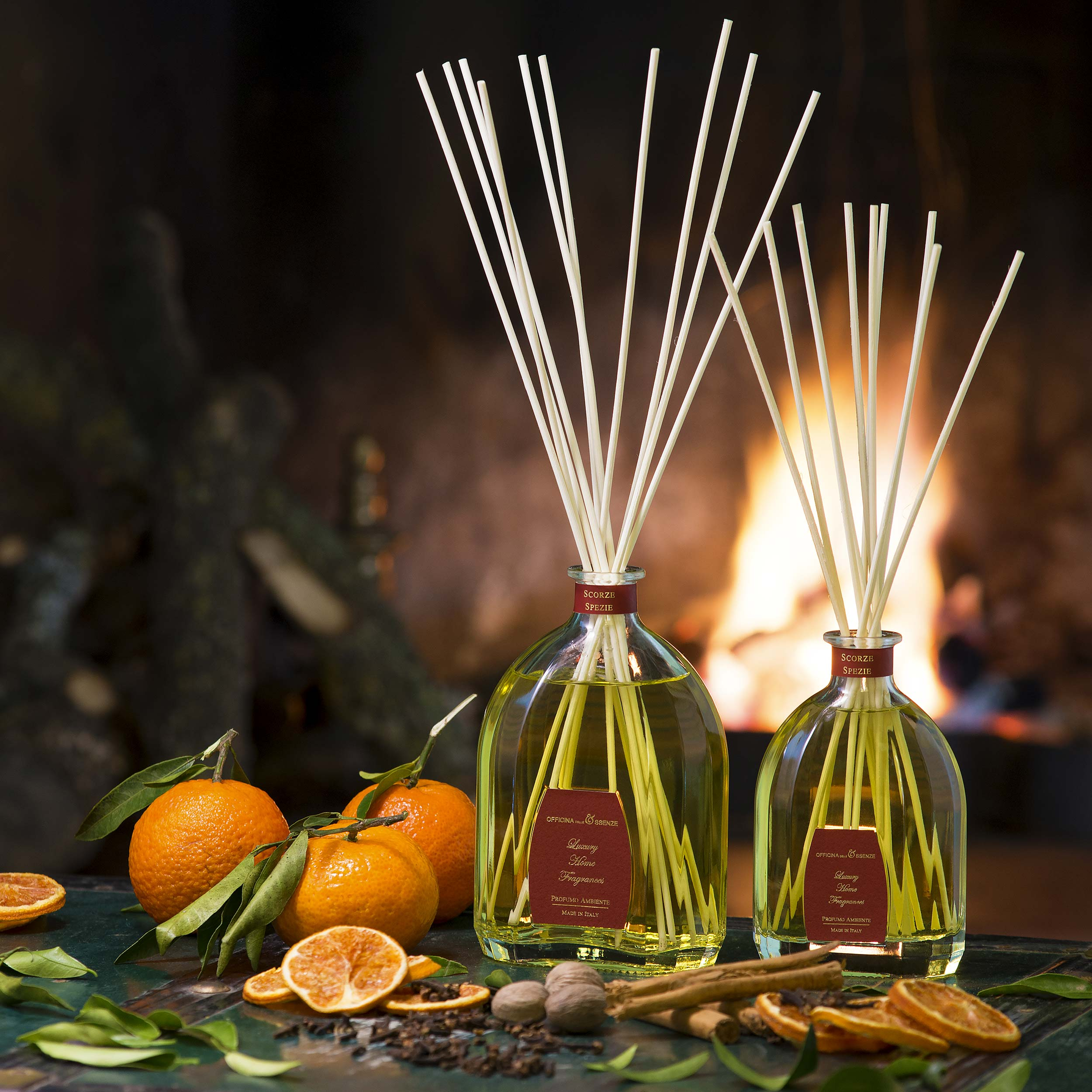 Christmas home fragrances