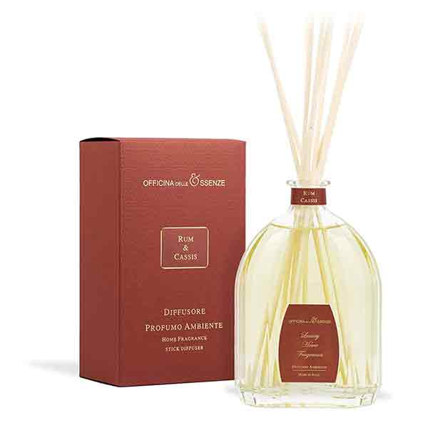 Rum Cassis - Home reed diffuser