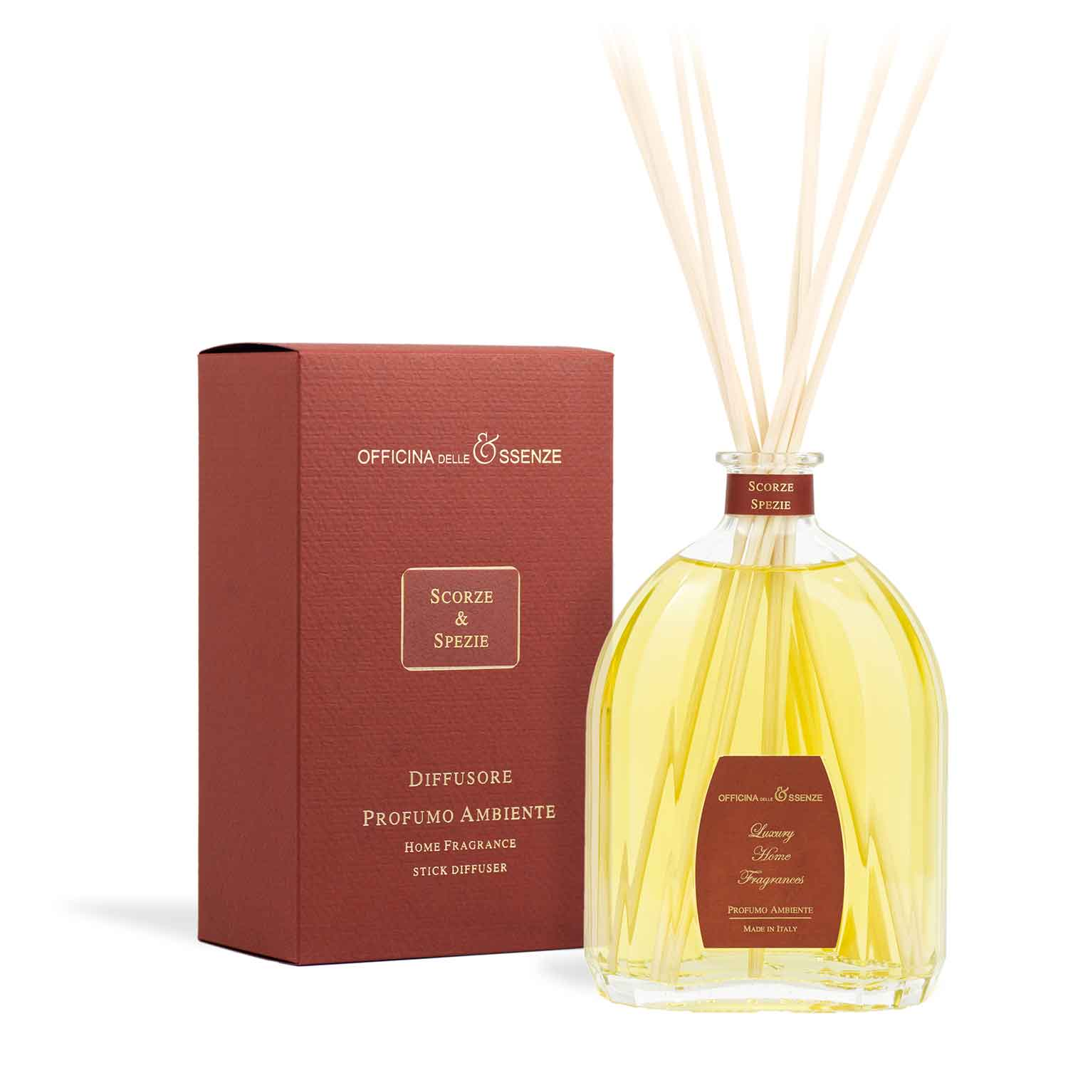 Scorze Spezie - Home reed diffuser