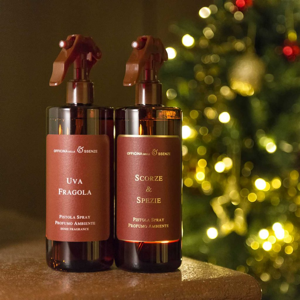 A room spray fragrance is the ideal Christmas gift