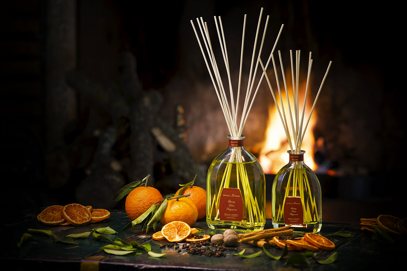Scorze Spezie is the Christmas reed diffuser