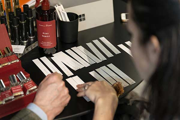Scelta delle fragranze Officina delle Essenze a Esxence 2019: The Inspiration Flow