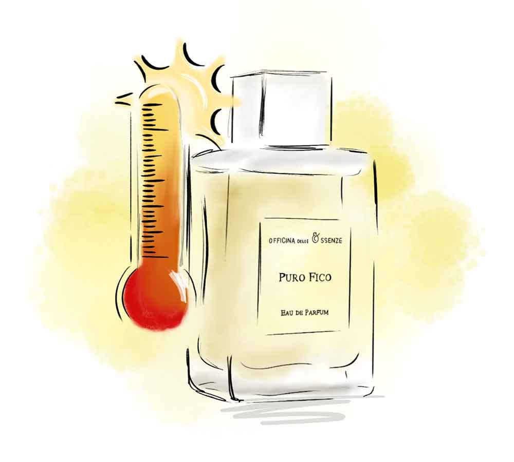 Evitare il caldo e gli sbalzi termici