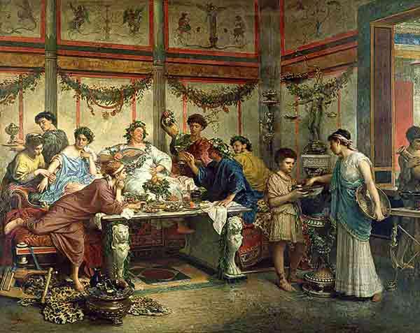 Roman banquet