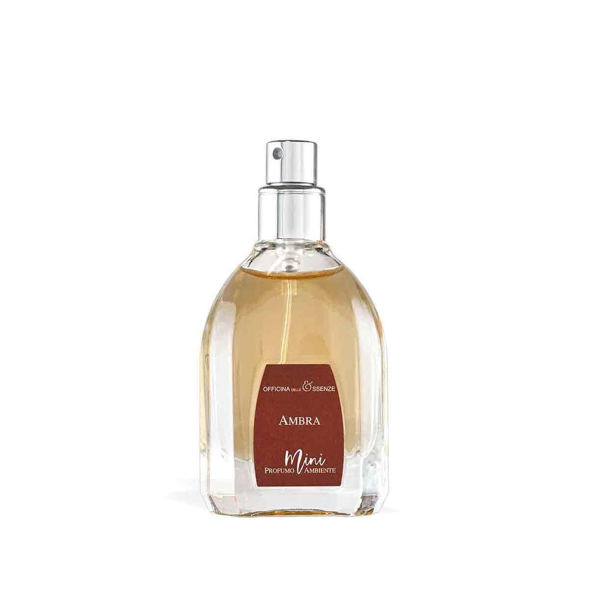 Mini profumo ambiente di Ambra da 25 ml
