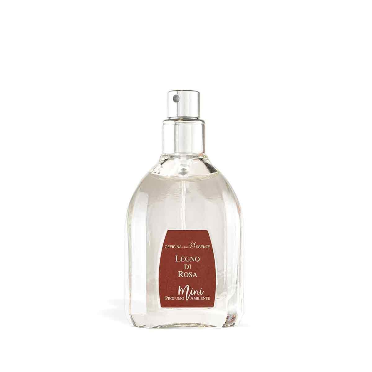 Mini profumo ambiente Legno di Rosa da 25 ml