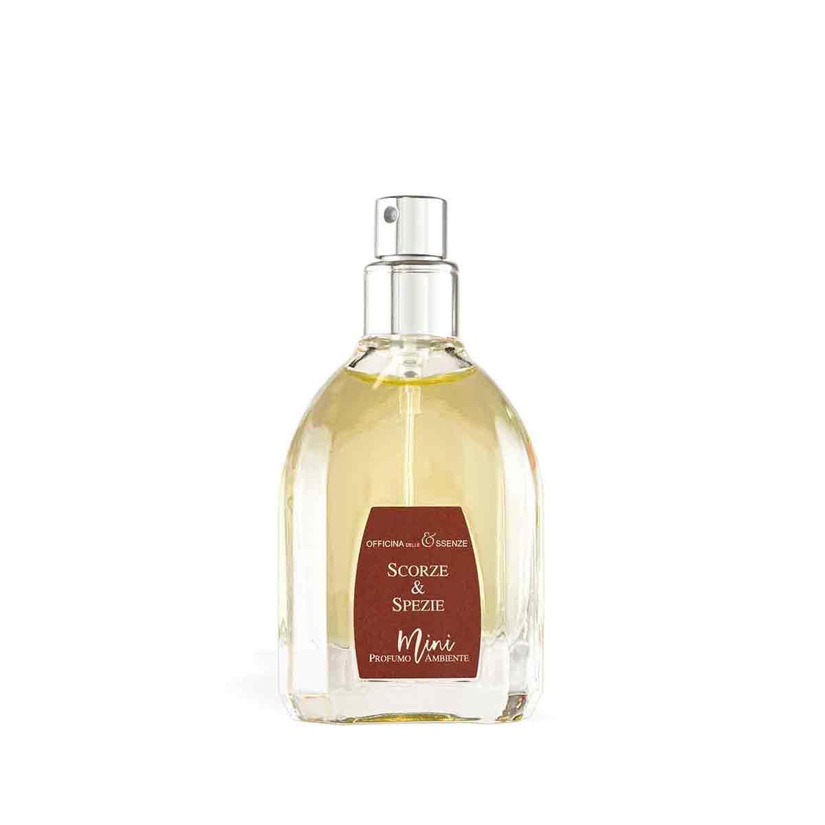 Mini profumo ambiente Scorze & Spezie da 25 ml