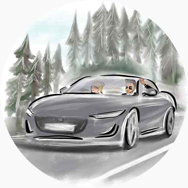 Goditi il viaggio in compagnia del profumo per auto scelto
