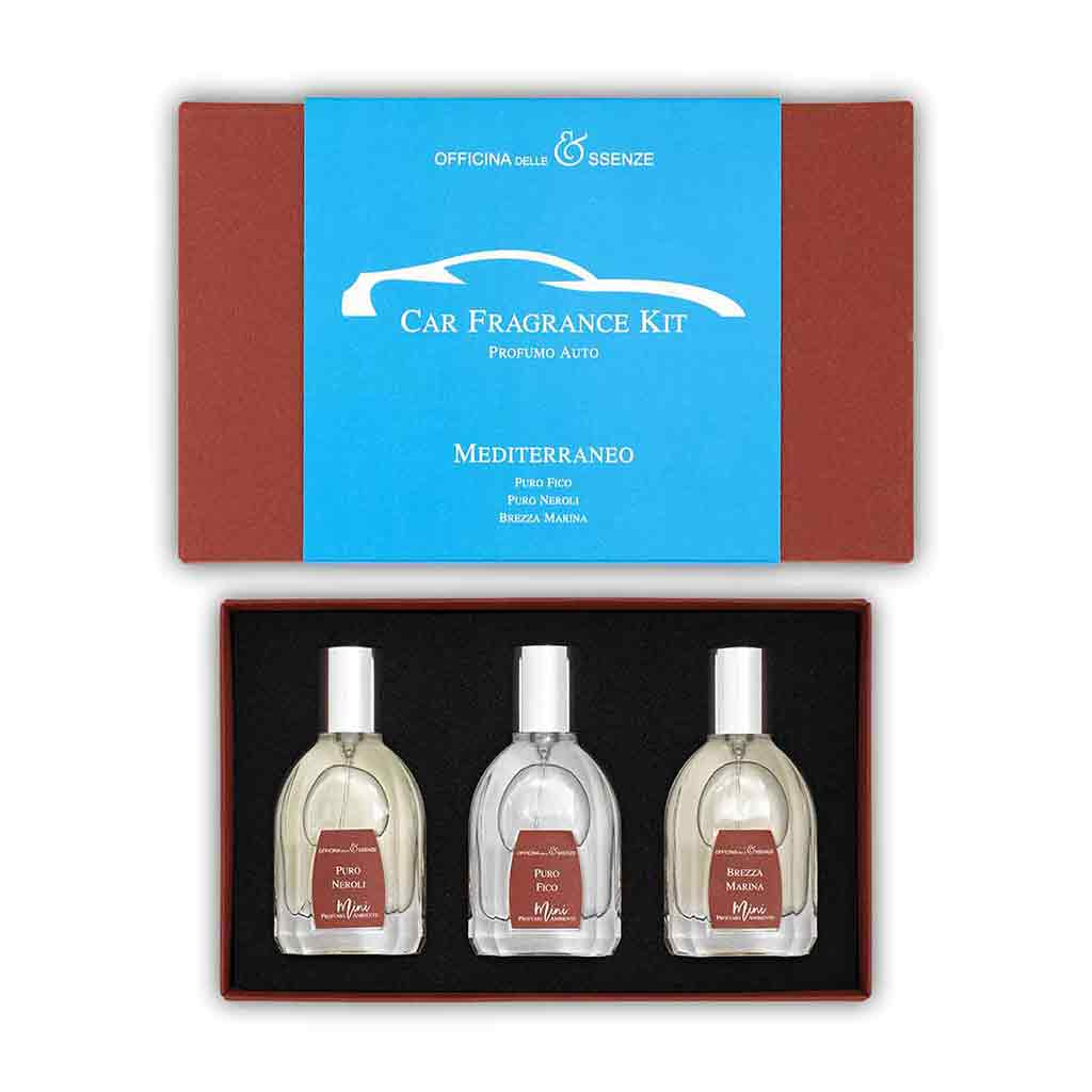 Mediterraneo Car Fragrance Kit