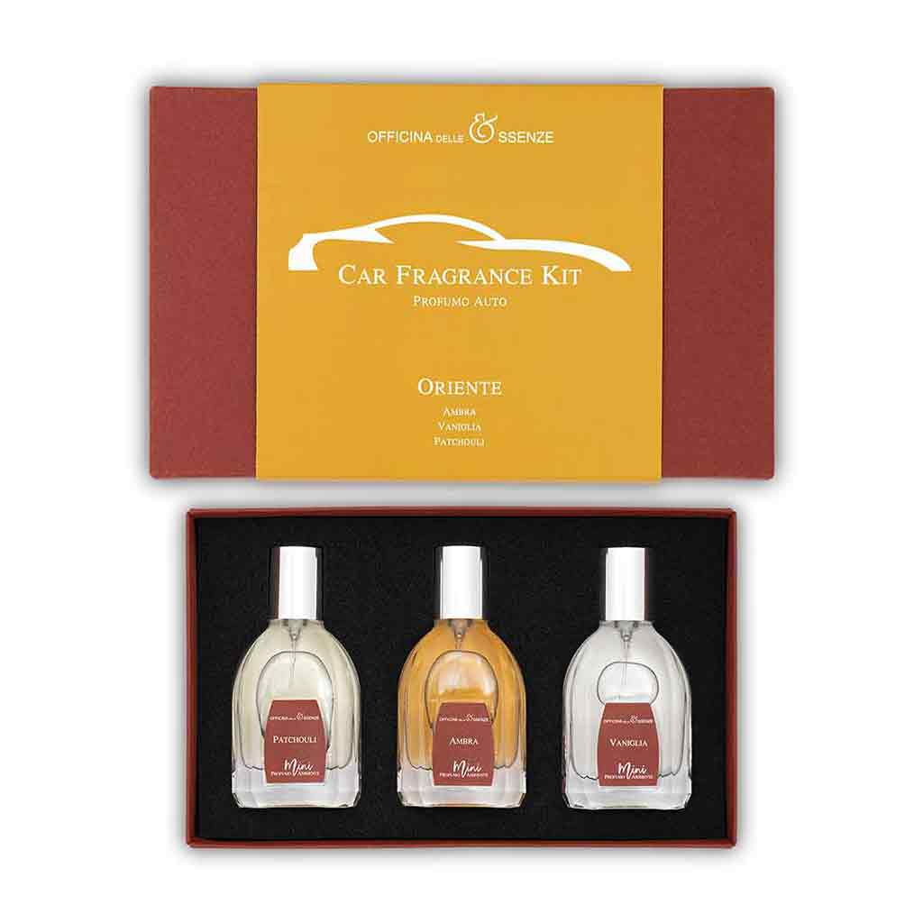 Oriente Car Fragrance Kit