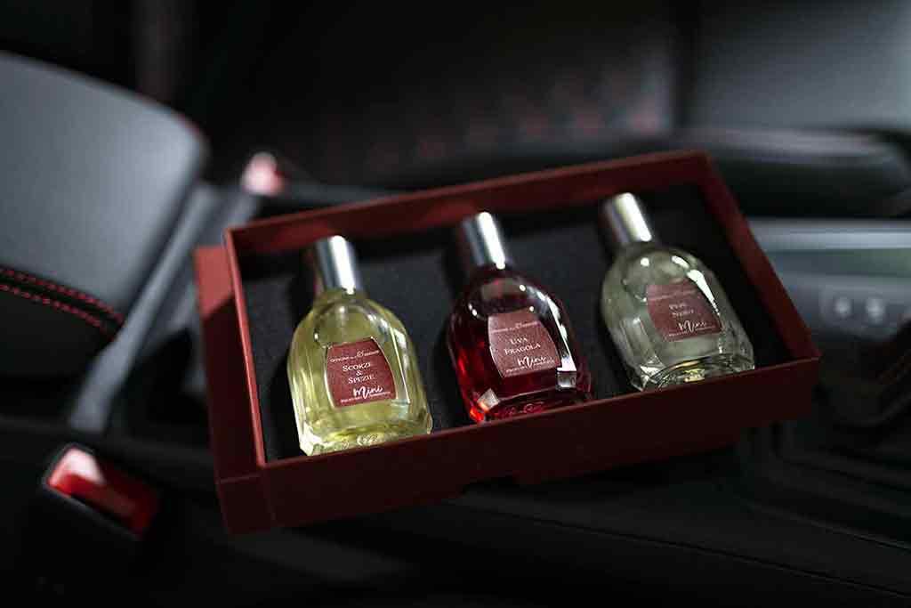 Spray profumati per auto luxury