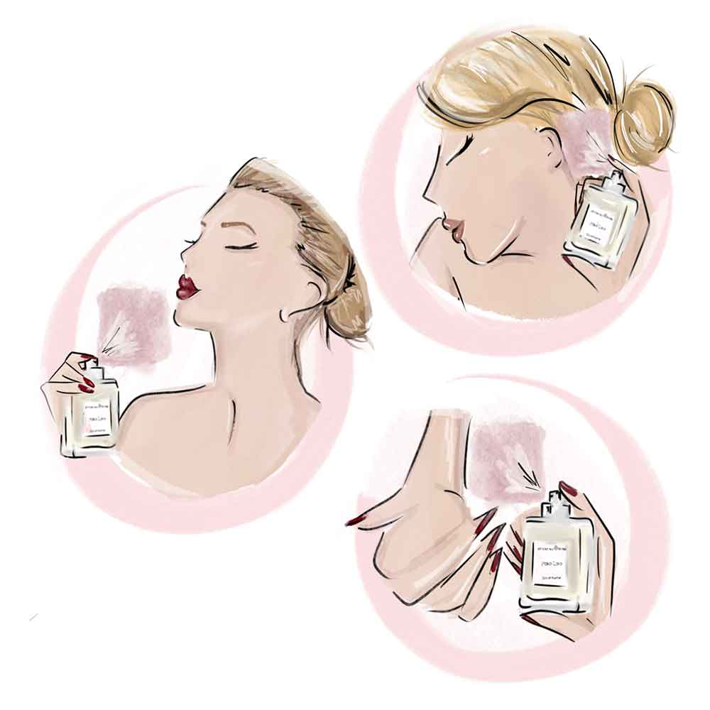 How to apply perfume to make it last long